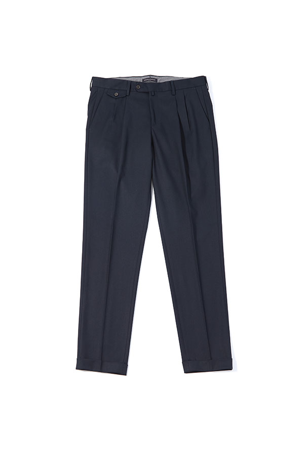 Two Pleats Out Pocket Pants_NA