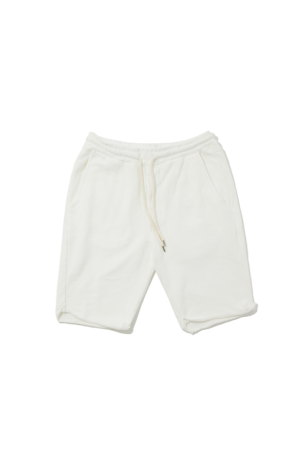 String Sweat Short Pants_WH