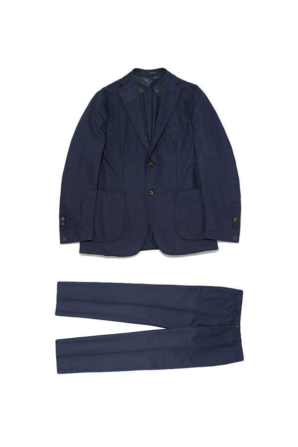 Wool Single Breasted Suit_NA
